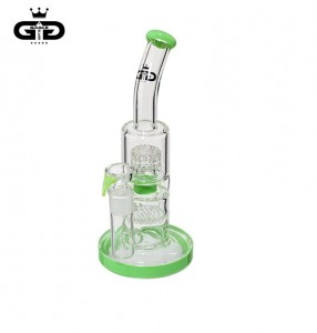 Bongo Grace Glass | Double bubble 26 cm 18,8 mm