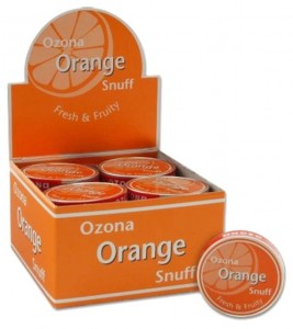 Tabaka OZONA ORANGE SNUFF 5 g BOX 20 szt
