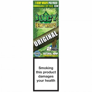 Bibułka Blunt Wrap JUICY HEMP origin 2 szt