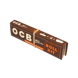 Bibułka OCB Virgin Slim + Tips ROLL KIT BOX 20szt