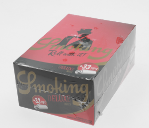 Bibułka Smoking ROLLS Deluxe + Tips BOX 24