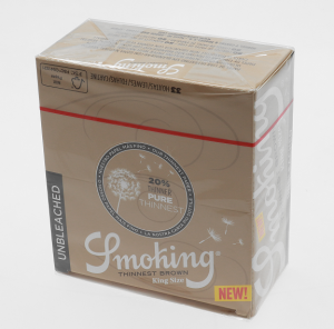 Bibułka Smoking KS BROWN Thinnest BOX50