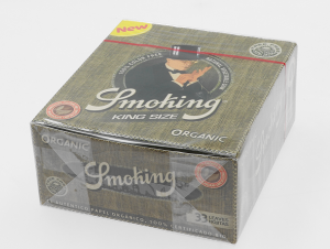 Bibułka SMOKING ORGANIC KS BOX 50