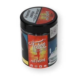 Tytoń do shishy Taboo Red Fusion 50g ŻURAWINA