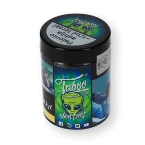 Tytoń do shishy Alien Twist 50g Mięta - Limonka
