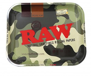 Tacka metalowa RAW Camouflage 27,5x33cm