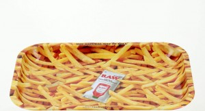 Tacka metalowa RAW French Fries 27,5x33cm