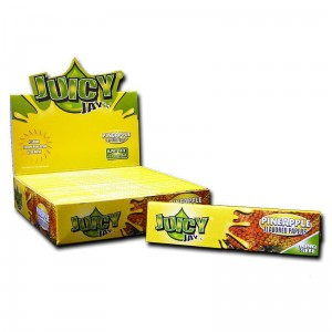 Bibułka Juicy Jay's slim KS ananas BOX 24 szt
