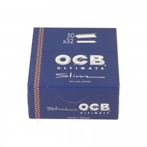 Bibułka OCB Ultimate Slim KS BOX 50 szt