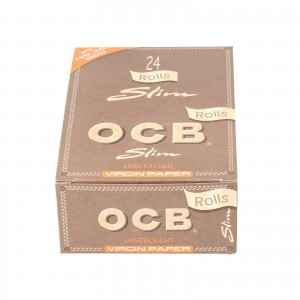 Bibułka OCB VIRGIN Rolls Slim  BOX 24 szt